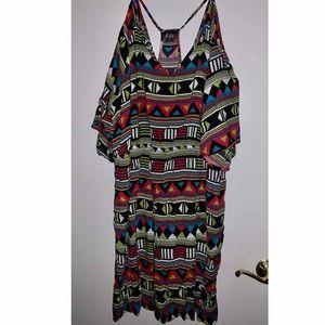 DOTS 3x Tribal Print Dress